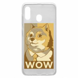 Чохол для Samsung A20 Doge wow meme