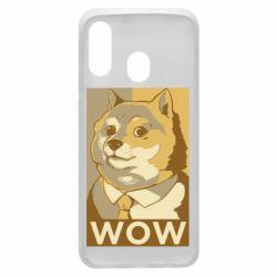 Чохол для Samsung A40 Doge wow meme