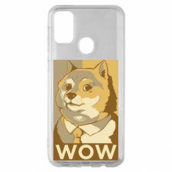 Чохол для Samsung M30s Doge wow meme