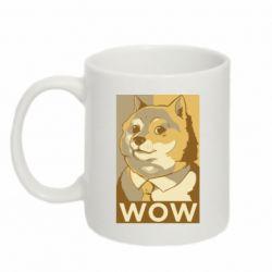 Кружка 320ml Doge wow meme