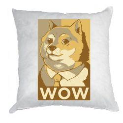 Подушка Doge wow meme