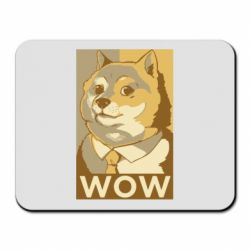 Килимок для миші Doge wow meme