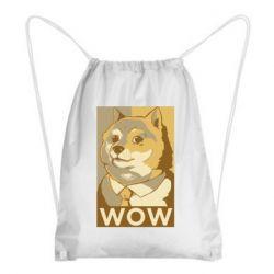 Рюкзак-мішок Doge wow meme