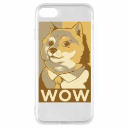 Чохол для iPhone 7 Doge wow meme