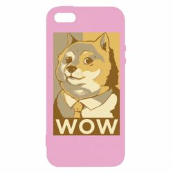 Чохол для iphone 5/5S/SE Doge wow meme