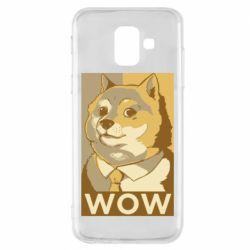 Чохол для Samsung A6 2018 Doge wow meme