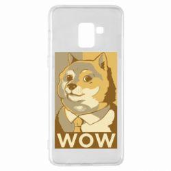 Чохол для Samsung A8+ 2018 Doge wow meme