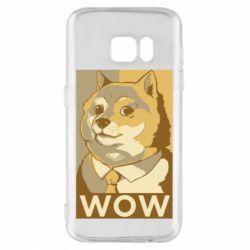 Чохол для Samsung S7 Doge wow meme