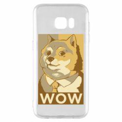 Чохол для Samsung S7 EDGE Doge wow meme