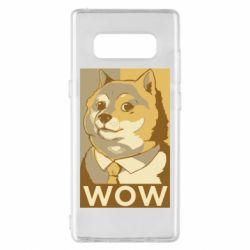 Чохол для Samsung Note 8 Doge wow meme