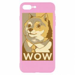 Чохол для iPhone 8 Plus Doge wow meme