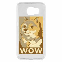 Чохол для Samsung S6 Doge wow meme
