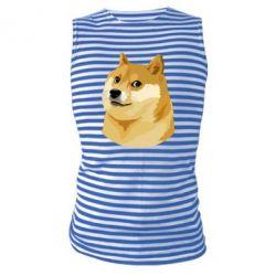 Майка-тельняшка Doge - FatLine