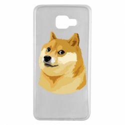 Чохол для Samsung A7 2016 Doge