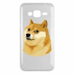 Чохол для Samsung J3 2016 Doge