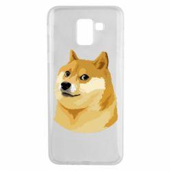 Чохол для Samsung J6 Doge