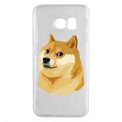 Чохол для Samsung S6 EDGE Doge