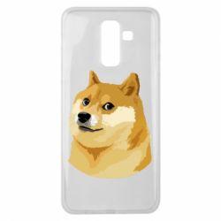 Чохол для Samsung J8 2018 Doge