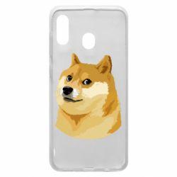 Чохол для Samsung A20 Doge