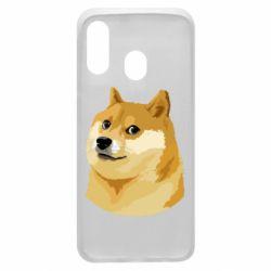 Чохол для Samsung A40 Doge