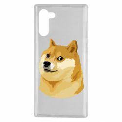 Чохол для Samsung Note 10 Doge