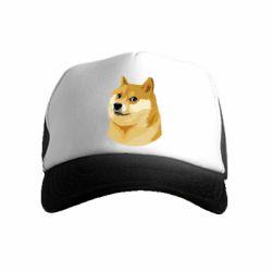 Дитяча кепка-тракер Doge