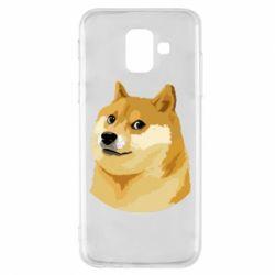 Чохол для Samsung A6 2018 Doge