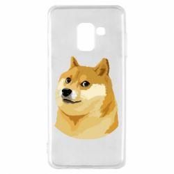 Чохол для Samsung A8 2018 Doge