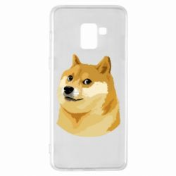 Чохол для Samsung A8+ 2018 Doge