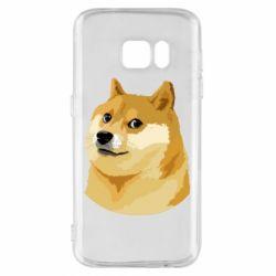 Чохол для Samsung S7 Doge