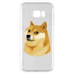 Чохол для Samsung S7 EDGE Doge