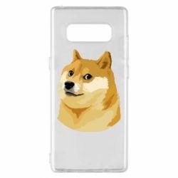 Чохол для Samsung Note 8 Doge