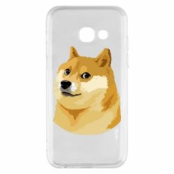 Чохол для Samsung A3 2017 Doge