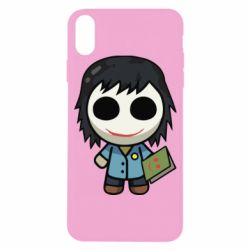 Чохол для iPhone X/Xs Doll with a book