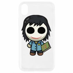 Чохол для iPhone XR Doll with a book
