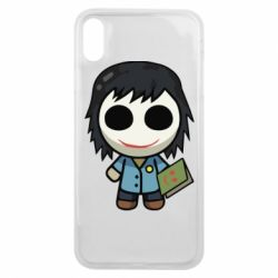 Чохол для iPhone Xs Max Doll with a book