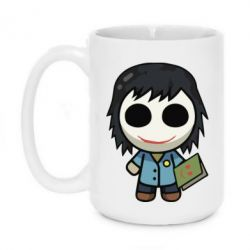 Кружка 420ml Doll with a book