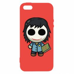 Чохол для iphone 5/5S/SE Doll with a book