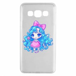 Чохол для Samsung A3 2015 Doll with blue hair