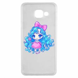 Чохол для Samsung A3 2016 Doll with blue hair