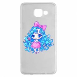 Чохол для Samsung A5 2016 Doll with blue hair