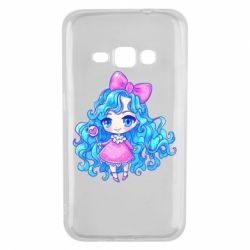 Чохол для Samsung J1 2016 Doll with blue hair