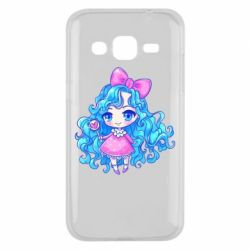 Чохол для Samsung J2 2015 Doll with blue hair