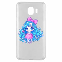 Чохол для Samsung J4 Doll with blue hair