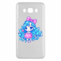 Чохол для Samsung J5 2016 Doll with blue hair