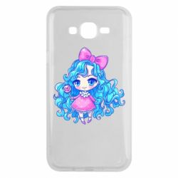 Чохол для Samsung J7 2015 Doll with blue hair