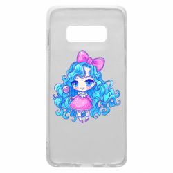 Чохол для Samsung S10e Doll with blue hair