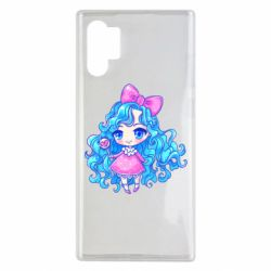 Чохол для Samsung Note 10 Plus Doll with blue hair