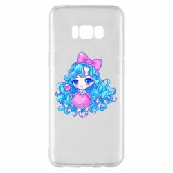 Чохол для Samsung S8+ Doll with blue hair