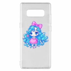 Чохол для Samsung Note 8 Doll with blue hair